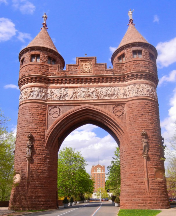 Bushnell Park Arch