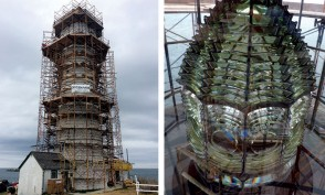 Boston Light / Fersnel Lens